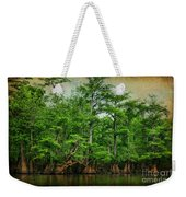 Cypress Trees Weekender Tote Bag