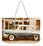 Dad's Old Car Weekender Tote Bag