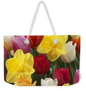 Daffodil Narcissus Sp Lucky Number Weekender Tote Bag