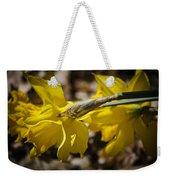 Daffodil Sunshine Weekender Tote Bag