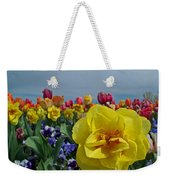 Daffodil Up Front Weekender Tote Bag
