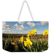 Daffs On Dartmoor Weekender Tote Bag