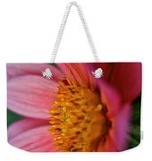 Dahlia Candles Weekender Tote Bag