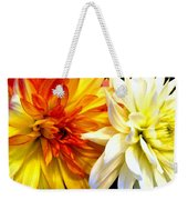 Dahlia Days Weekender Tote Bag