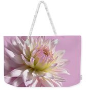 Dahlia Flower Pretty In Pink Weekender Tote Bag