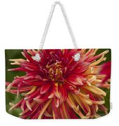 Dahlia In Its Prime Weekender Tote Bag