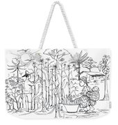 Daily Life In South And Center Cameroon 01 Weekender Tote Bag