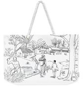Daily Life In South And Center Cameroon 02 Weekender Tote Bag