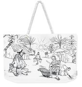 Daily Life In South And Center Cameroon 03 Weekender Tote Bag