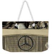 Daimler-benz A-g Hood Emblem Weekender Tote Bag