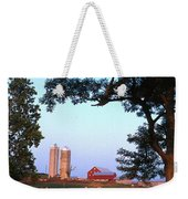 Dairy Farm Weekender Tote Bag by Photo Researchers