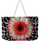 Daisy And Graphic Vase Weekender Tote Bag