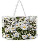 Daisy Days Weekender Tote Bag