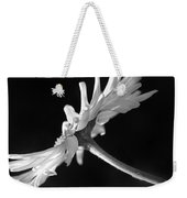 Daisy Flower In Black And White Weekender Tote Bag