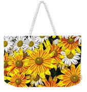 Daisy Garden Weekender Tote Bag