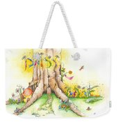 Daisy Mae Fairy Illustration Weekender Tote Bag