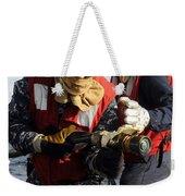 Damage Controlman Practices Weekender Tote Bag