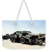 Damaged Mk48 Front Power Units Weekender Tote Bag