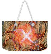 Dance Of Fires  Weekender Tote Bag by Jerry Cordeiro