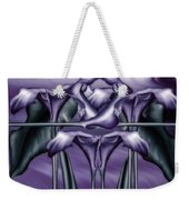 Dance Of The Purple Calla Lilies V Weekender Tote Bag