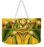 Dance Of The Yellow Calla Lilies II Weekender Tote Bag