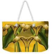 Dance Of The Yellow Calla Lilies Weekender Tote Bag