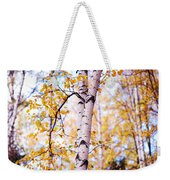 Dancing Birches Weekender Tote Bag