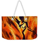 Dancing Fire Vii Weekender Tote Bag