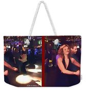 Dancing New Years Eve - Gently Cross Your Eyes And Focus On The Middle Image Weekender Tote Bag