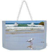 Dancing On The Beach Weekender Tote Bag