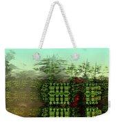 Dancing Trees On Alien Cliffs Weekender Tote Bag