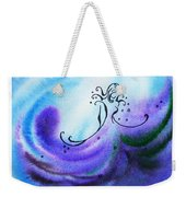 Dancing Water V Weekender Tote Bag