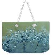 Dandelion Drops In Blue Weekender Tote Bag
