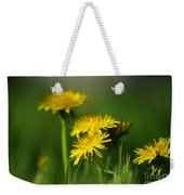 Dandelion Magic Weekender Tote Bag