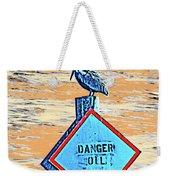 Danger Oil Weekender Tote Bag