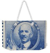 Daniel Chester French Postage Stamp Weekender Tote Bag