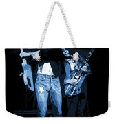 D J  And R D  Playing The Blues 1977 Weekender Tote Bag