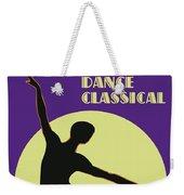 Classical Dancer Weekender Tote Bag
