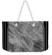 Dare To Be Different - Black And White Abstract Weekender Tote Bag