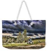 Dark Clouds Over The Farm Weekender Tote Bag