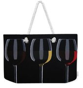 Dark Light Medium Weekender Tote Bag