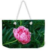 Dark Pink Peony Flower Series 2 Weekender Tote Bag