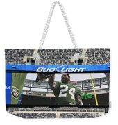Darrelle Revis - Ny Jets Weekender Tote Bag