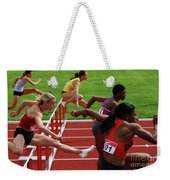 Dash To The Finish Weekender Tote Bag