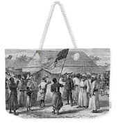 David Livingstone, Scottish Missionary Weekender Tote Bag by Photo Researchers