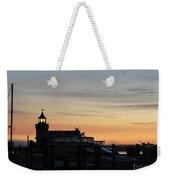 Dawn At Saybrook Dock Weekender Tote Bag