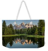 Dawn At Schwabacher Landing Weekender Tote Bag