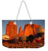 Dawn Flight In Monument Valley Weekender Tote Bag