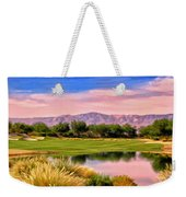Dawn On The Golf Course Weekender Tote Bag