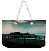 Dawn On The Seafront At Hastings Weekender Tote Bag